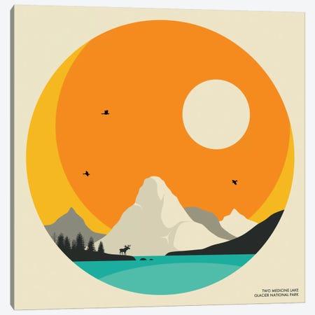 Glacier National Park Canvas Print #JBL49} by Jazzberry Blue Canvas Art Print