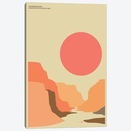 Grand Canyon Canvas Print #JBL50} by Jazzberry Blue Canvas Art