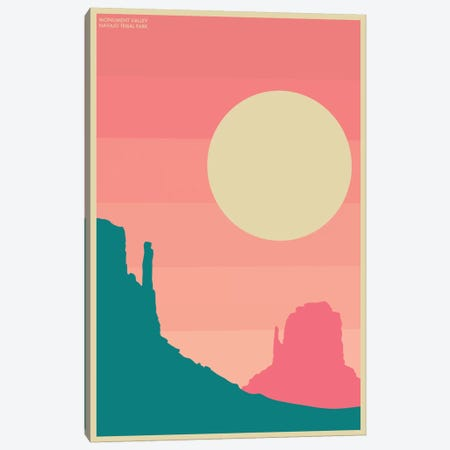 Monument Valley I Canvas Print #JBL55} by Jazzberry Blue Canvas Print