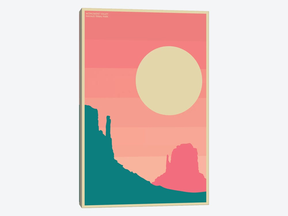 Monument Valley I by Jazzberry Blue 1-piece Canvas Art Print