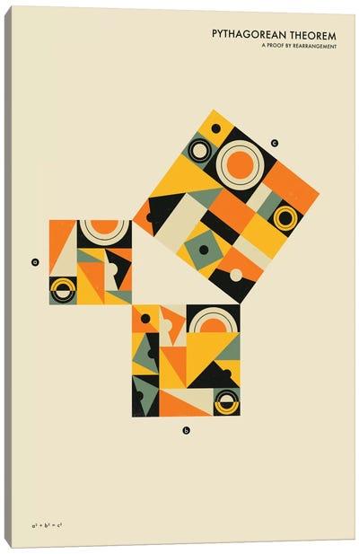 Pythagorean Theorem I Canvas Art Print