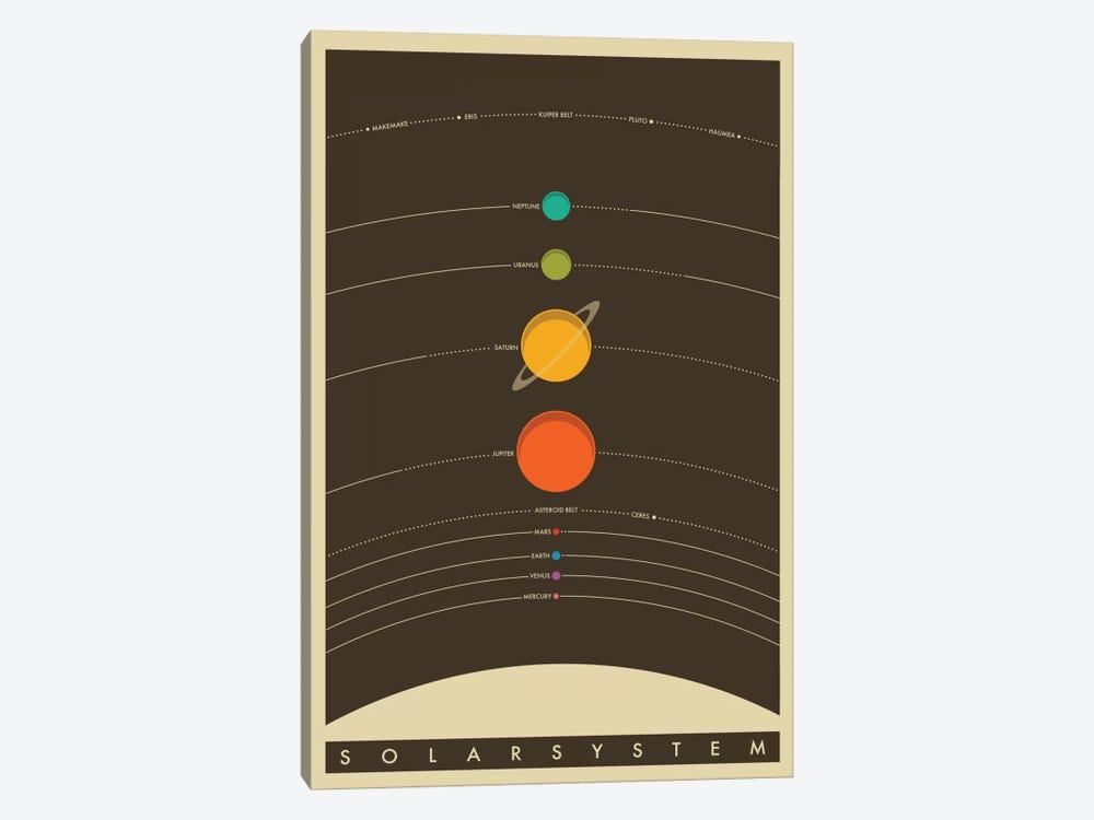 Solar System by Jazzberry Blue 1-piece Art Print
