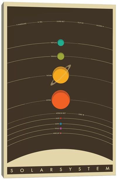 Solar System Canvas Print #JBL68