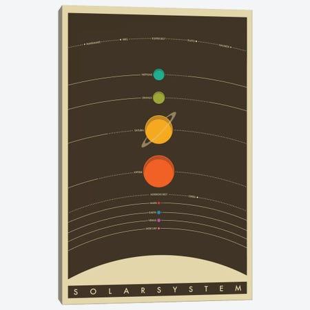 Solar System Canvas Print #JBL68} by Jazzberry Blue Art Print
