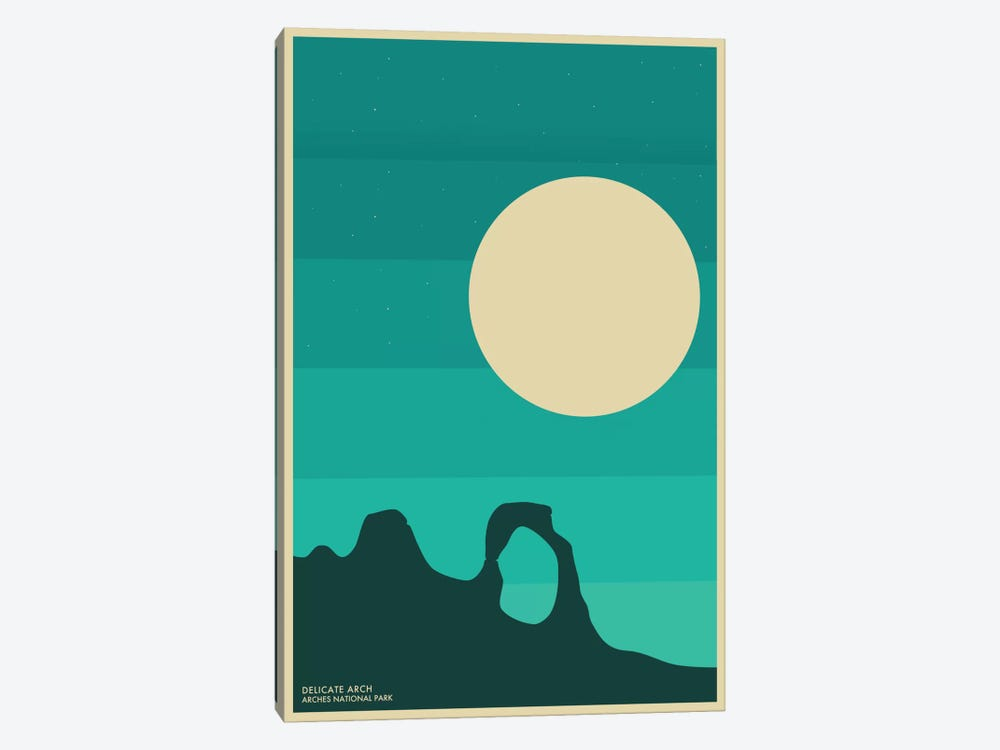 Arches by Jazzberry Blue 1-piece Canvas Print