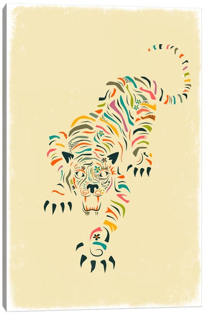 Tiger Canvas Print #JBL77