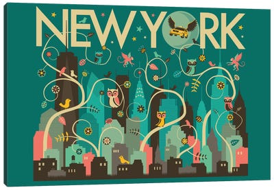 Wild New York Canvas Art Print