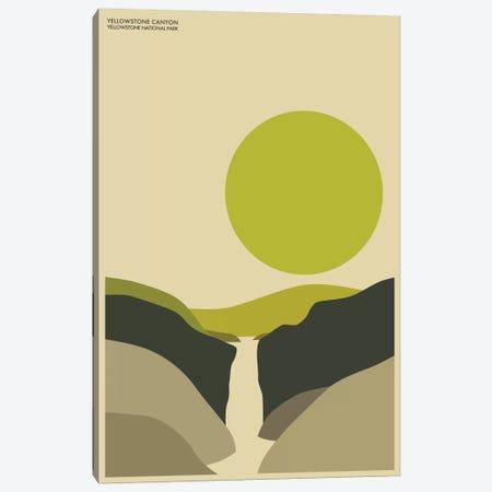 Yellowstone Canvas Print #JBL82} by Jazzberry Blue Canvas Art Print