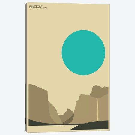 Yosemite Canvas Print #JBL83} by Jazzberry Blue Canvas Art Print