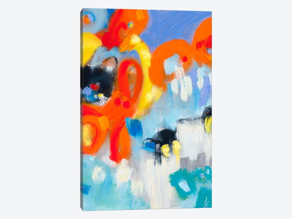 In The Loop V by Janet Bothne 1-piece Canvas Print