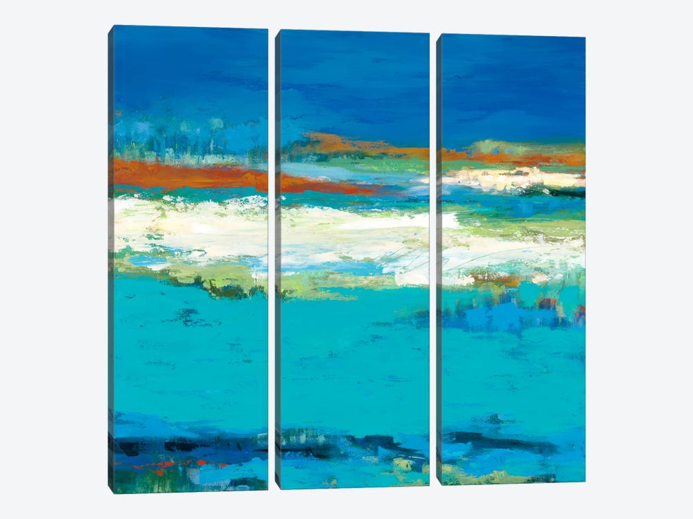 Aisle of White by Janet Bothne 3-piece Canvas Art