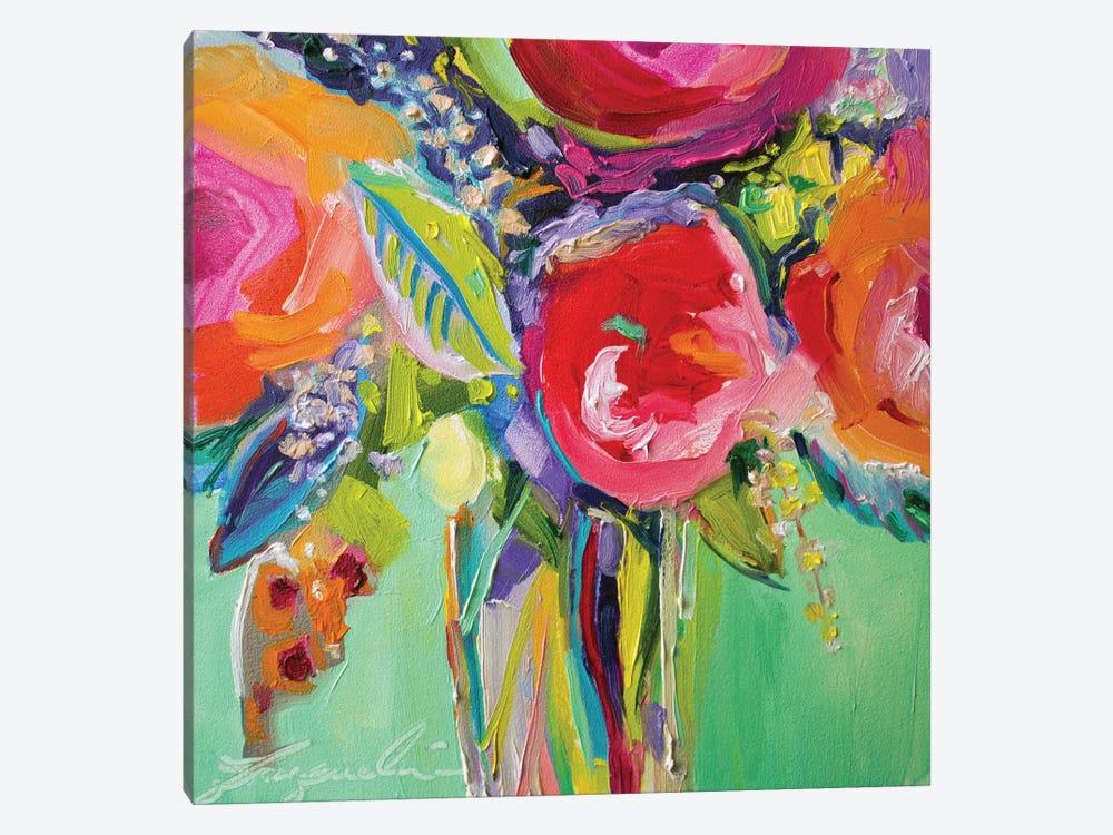 Ode To Summer I by Jacqueline Brewer 1-piece Canvas Art
