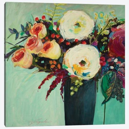 Ode To Summer IX Canvas Print #JBR2} by Jacqueline Brewer Canvas Art