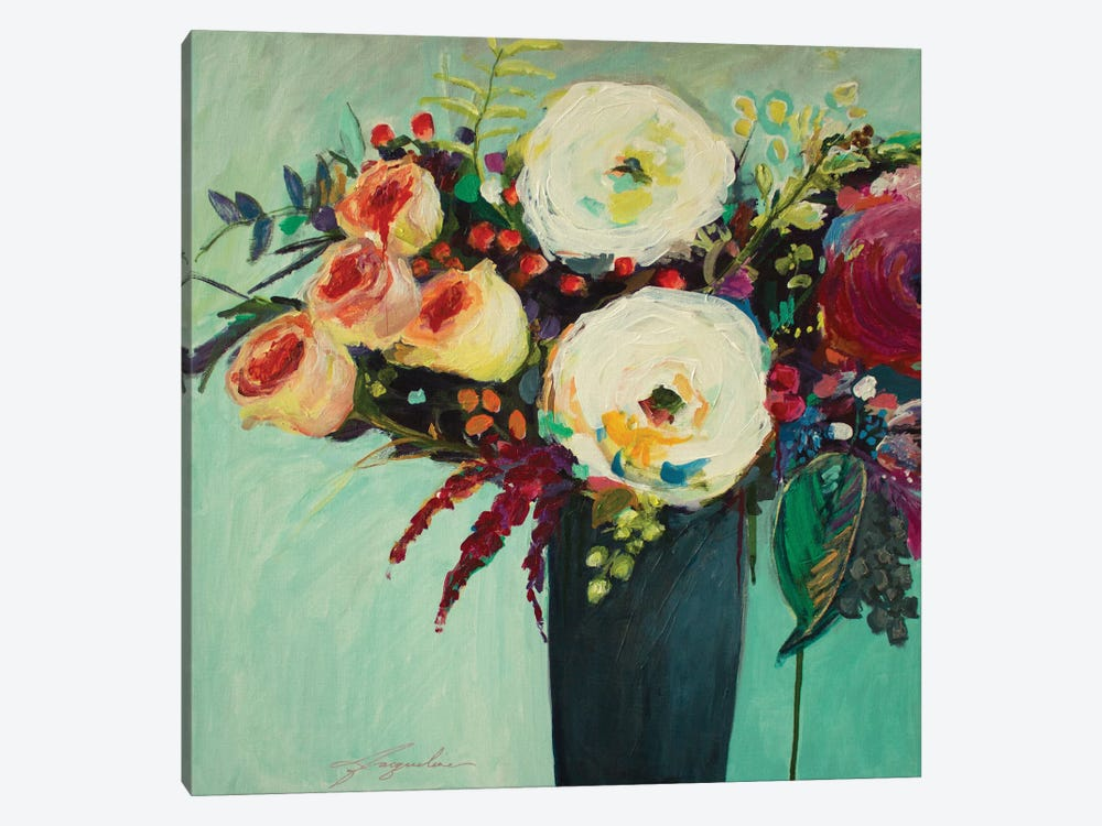 Ode To Summer IX by Jacqueline Brewer 1-piece Canvas Print