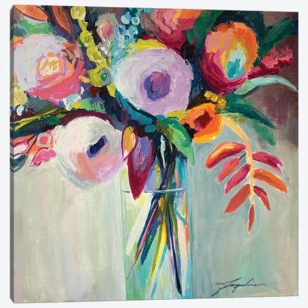 Ode To Summer VII Canvas Print #JBR3} by Jacqueline Brewer Canvas Art