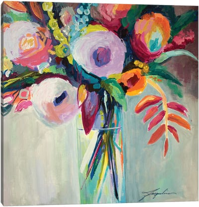Ode To Summer VII Canvas Art Print