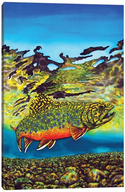 Brook Trout Canvas Art Print