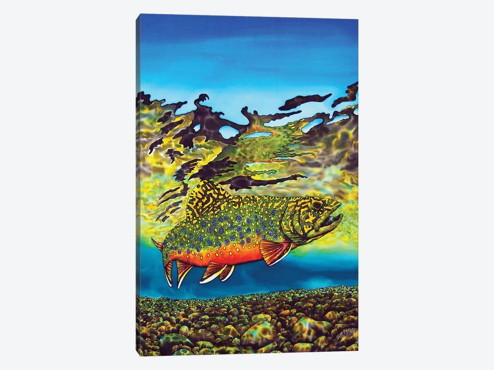 Brook Trout by Daniel Jean-Baptiste 1-piece Canvas Wall Art