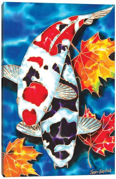 Canadian Koi Canvas Art Print
