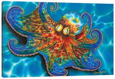 Caribbean Octopus Canvas Art Print