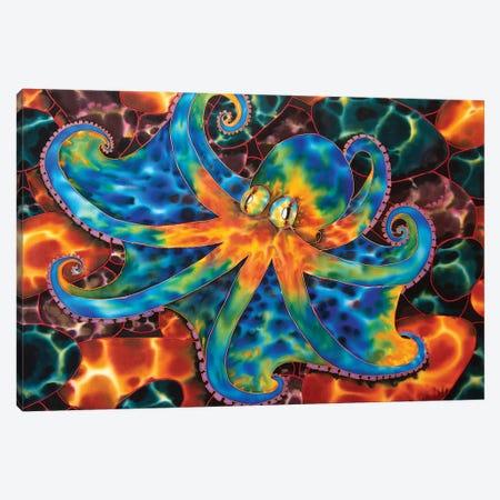 Caribbean Octopus - Stone Canvas Print #JBT16} by Daniel Jean-Baptiste Canvas Art Print