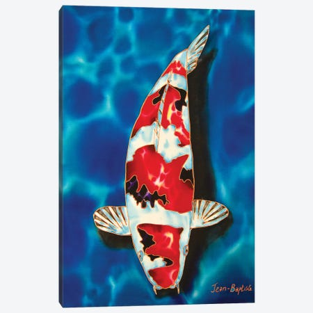 1 Koi Canvas Print #JBT1} by Daniel Jean-Baptiste Canvas Artwork