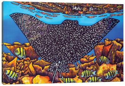 Eagle Ray Canvas Art Print