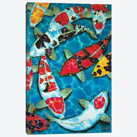 Fat Japanese Koi Canvas Print #JBT24} by Daniel Jean-Baptiste Canvas Wall Art