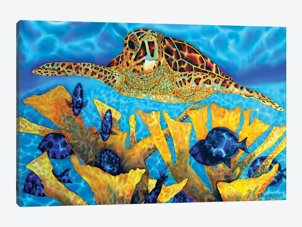 Hawksbill & Tangs by Daniel Jean-Baptiste 1-piece Canvas Art Print