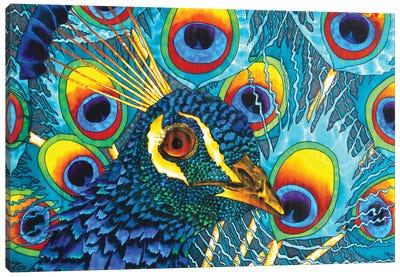 Insane Peacock Canvas Art Print