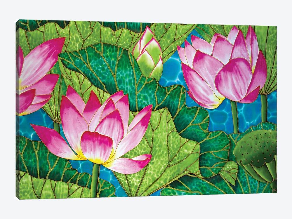 Lotus by Daniel Jean-Baptiste 1-piece Canvas Artwork