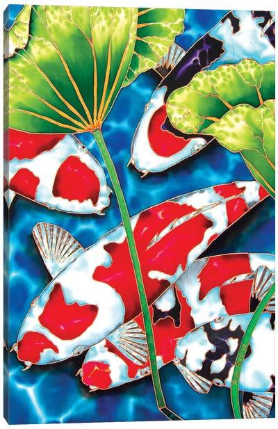 Lotus Garden Canvas Art Print