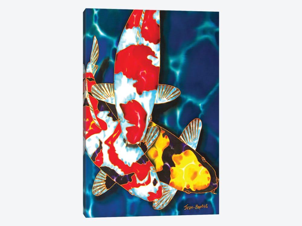 3 Koi by Daniel Jean-Baptiste 1-piece Canvas Artwork