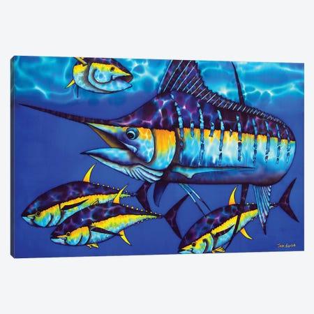 Majestic Blue Canvas Print #JBT42} by Daniel Jean-Baptiste Canvas Print