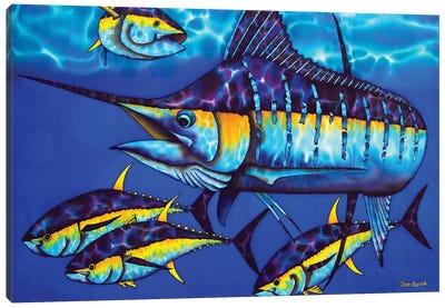 Majestic Blue Canvas Art Print