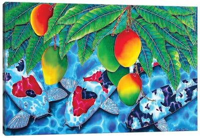 Mango Koi Canvas Art Print
