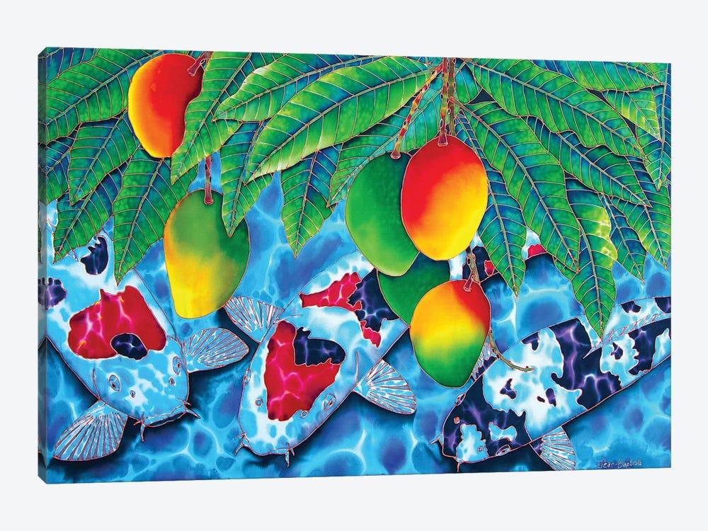 Mango Koi by Daniel Jean-Baptiste 1-piece Canvas Wall Art