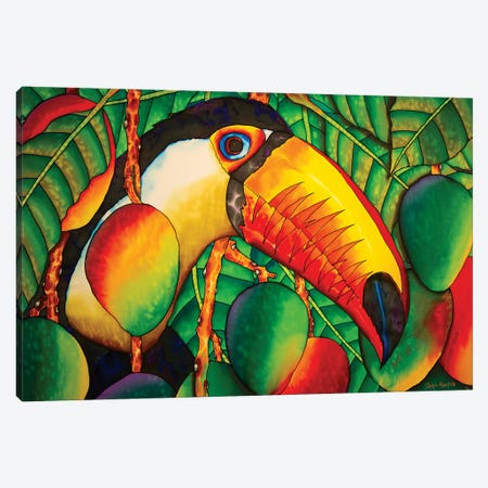 Paradise Toucan Canvas Print #JBT48} by Daniel Jean-Baptiste Canvas Print