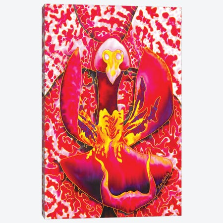 Passion Orchid Canvas Print #JBT49} by Daniel Jean-Baptiste Canvas Print