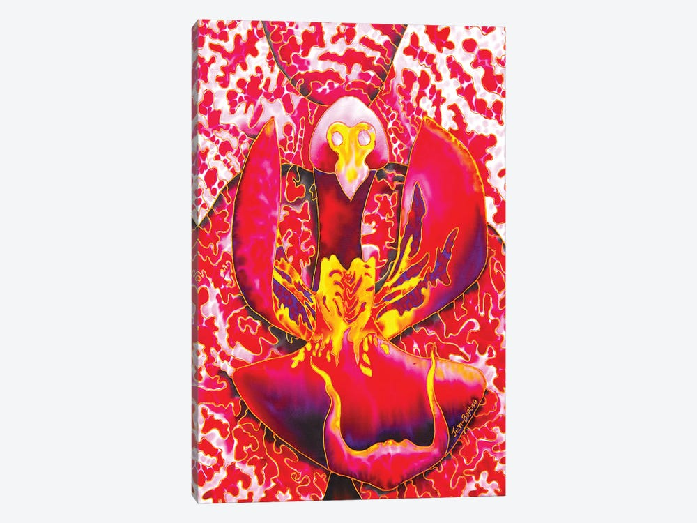 Passion Orchid 1-piece Canvas Wall Art