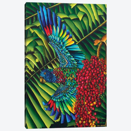 St. Lucia's Bird Of Paradise Canvas Print #JBT58} by Daniel Jean-Baptiste Canvas Wall Art