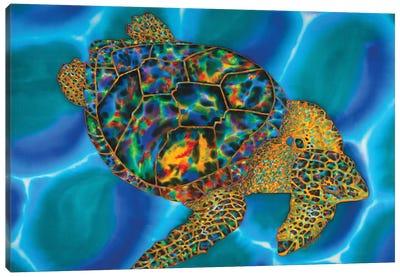 Caribbean Opal Canvas Art Print
