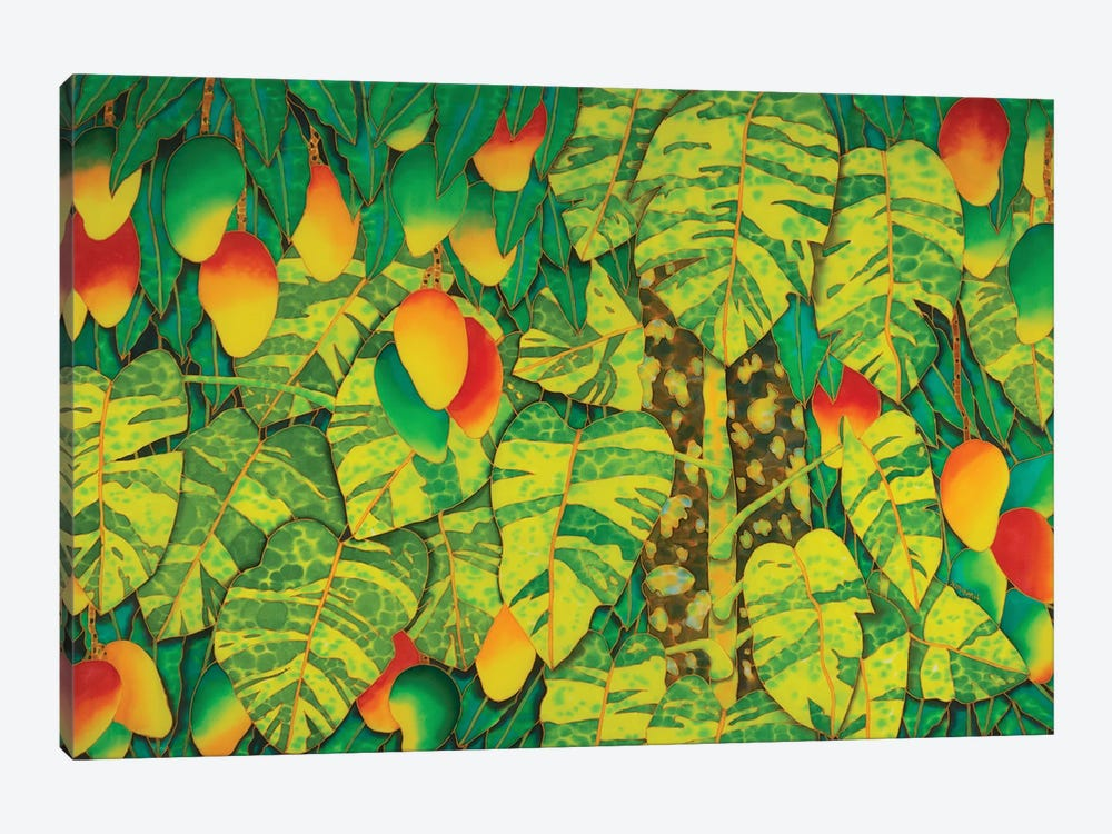 Monstera & Mango by Daniel Jean-Baptiste 1-piece Art Print