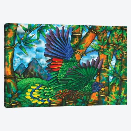 Untamed St. Lucia Canvas Print #JBT70} by Daniel Jean-Baptiste Canvas Art