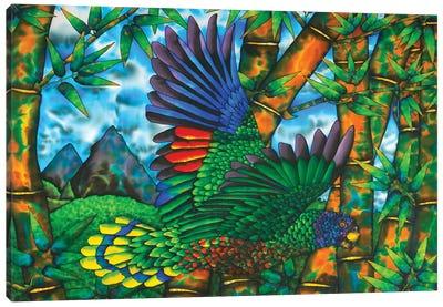 Untamed St. Lucia Canvas Art Print
