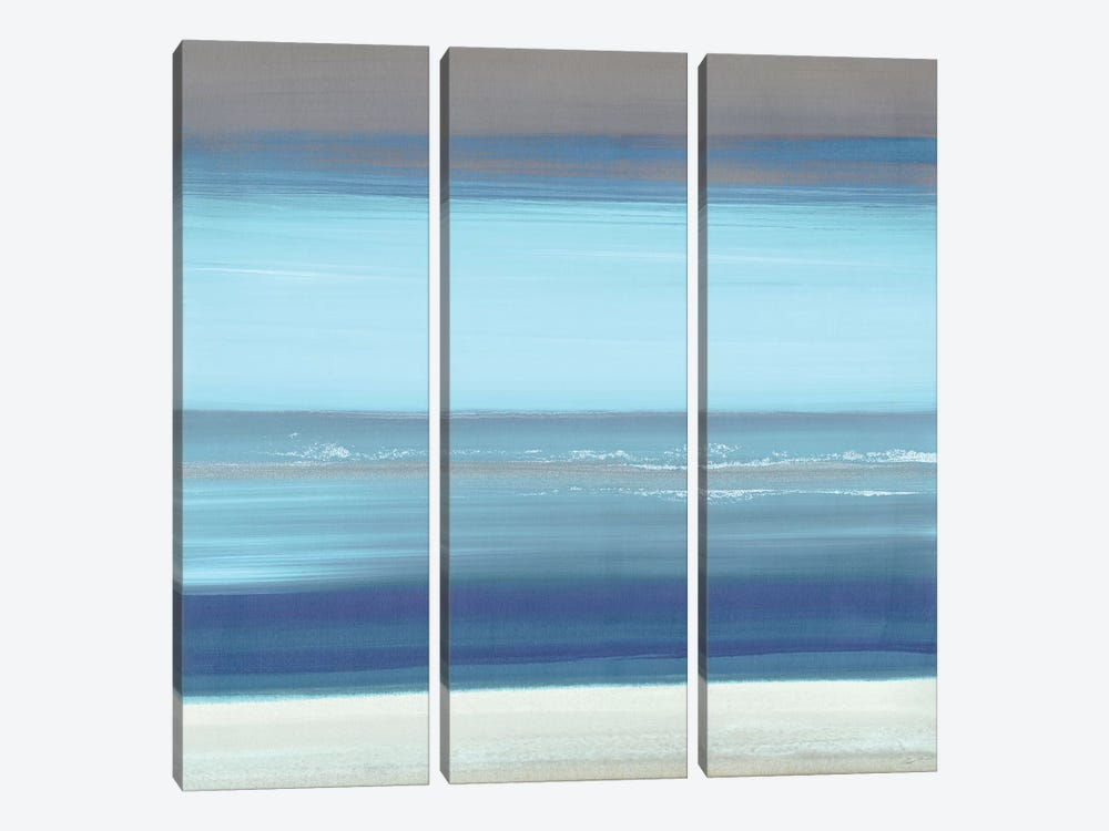 By The Sea II by John Butler 3-piece Canvas Wall Art