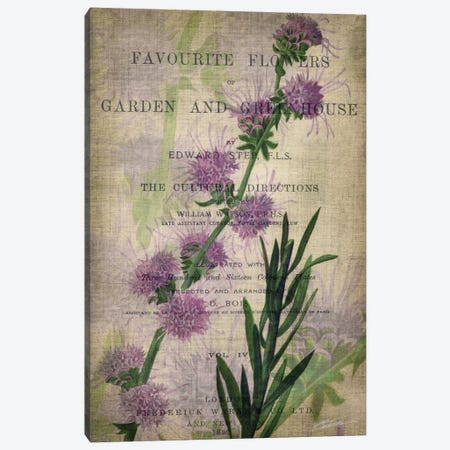 Favorite Flowers I Canvas Print #JBU1} by John Butler Art Print