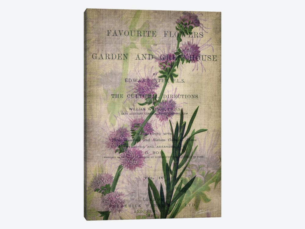 Favorite Flowers I by John Butler 1-piece Art Print