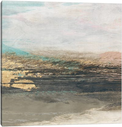 Vista Lake Canvas Art Print