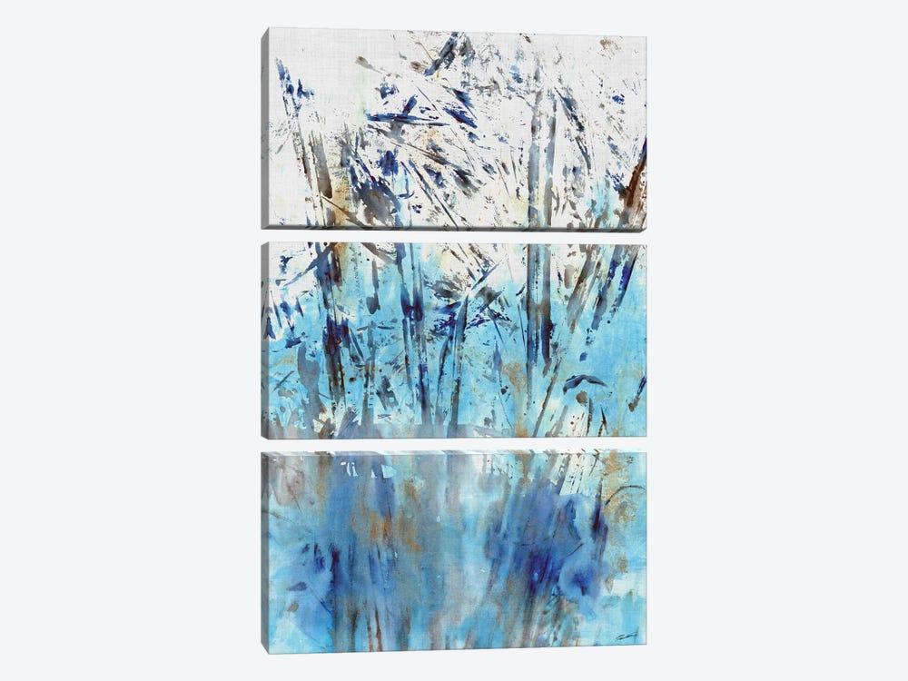 Waters Edge II by John Butler 3-piece Canvas Art